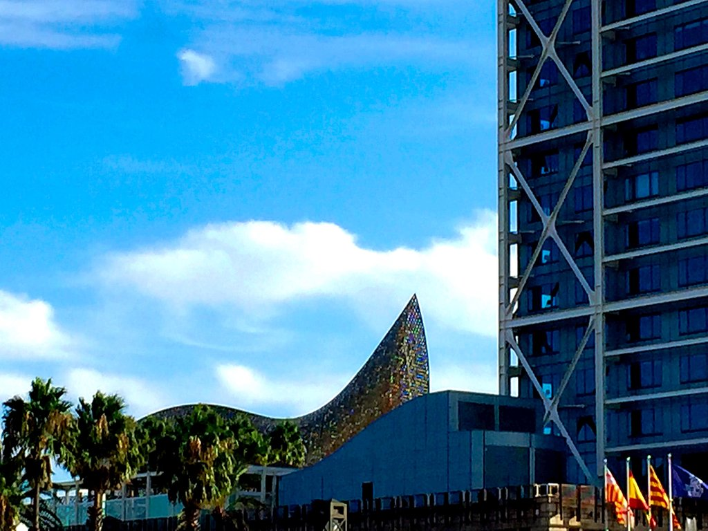 Hotel Arts y pez de Gehry