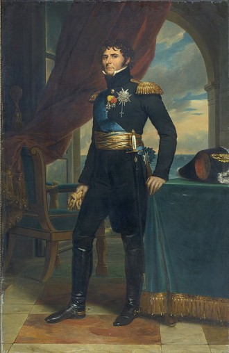 Charles XIV John como Crown Prince of Sweden