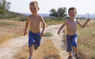 running children por christophe rolland en Getty Images