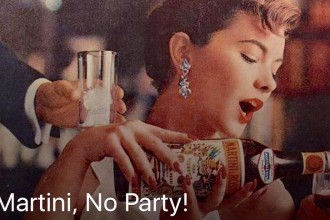 no martini, no party