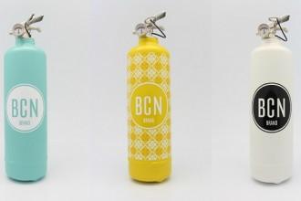 bcn brand collage extintores