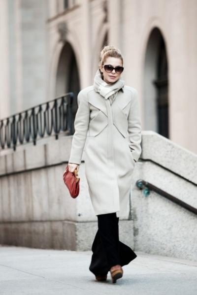 abrigo blanco invierno rockinchiclifestyle