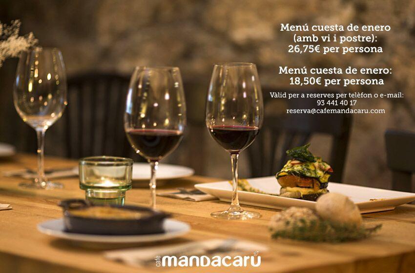 mandacarú menu especial enero rockin chic lifestyle