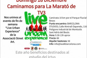 Caminata Solidaria para colaborar con el Marató de TV3