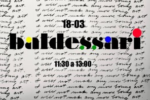 Baldessari: taller para niños en PLOM Gallery