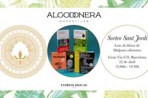 La Algodonera Market- Lab celebra Sant Jordi