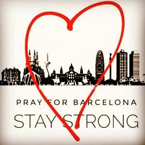 Nuestros corazones con todos vctimas y familiares barceloneses y turistashellip