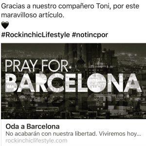 Barcelona es nuestra ciudad y estar siempre en nuestros corazoneshellip