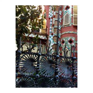 La Casa Vicens de Antoni Gaud en la calle Carolineshellip