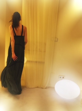 """Vestido """"VERMO"""" de la colección primavera verano 2018 de Cortana"""