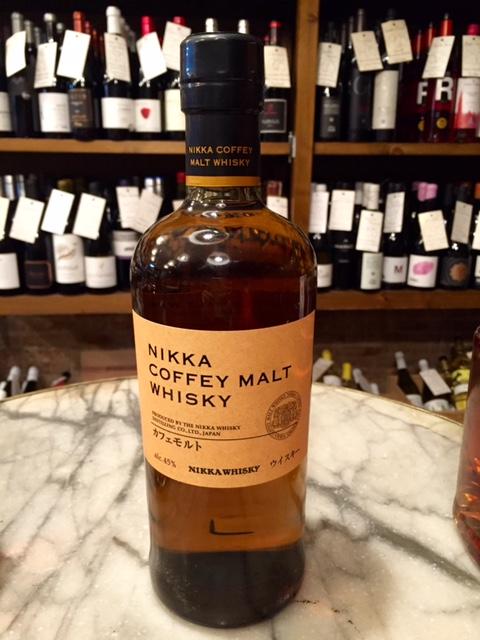 whisky japonés nikka from the barrel coffee