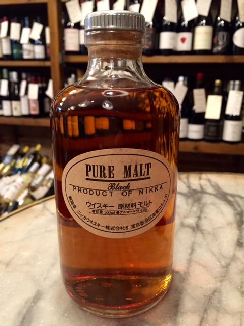 whisky japonés nikka from the barrel pure malta