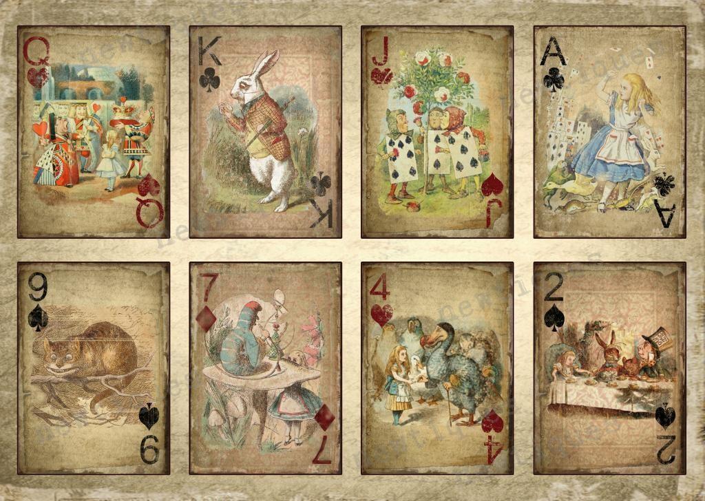 vintage-alice-in-wonderland-card