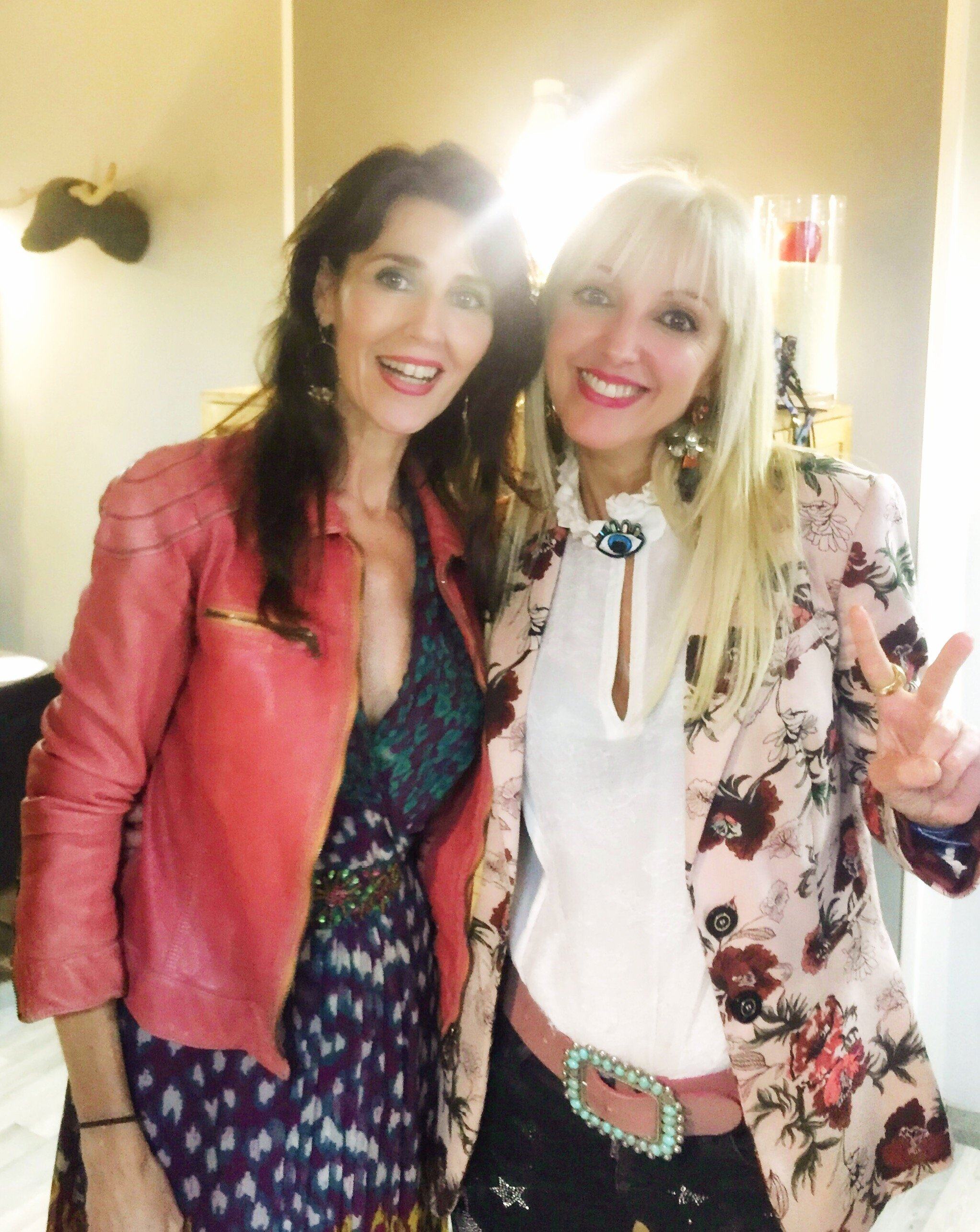 Con Alicia Miralpeix, de Moda Icono