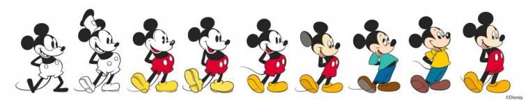 90 años del nacimiento de Mickey Mouse