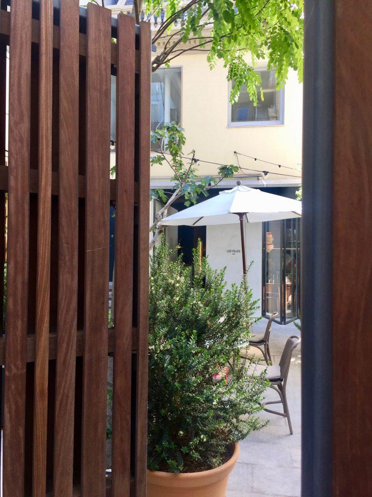 LES FILLES: una terraza casi secreta